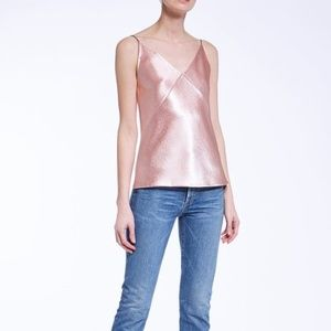 Vince - Pink Satin Camisole—NWT